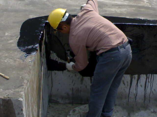 911防水涂料施工